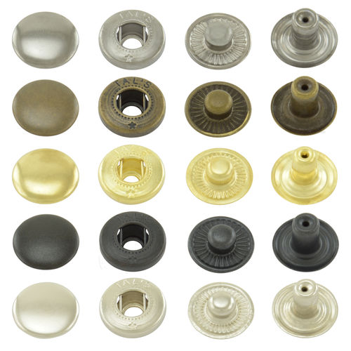 Snap fasteners S-spring 12.5 mm